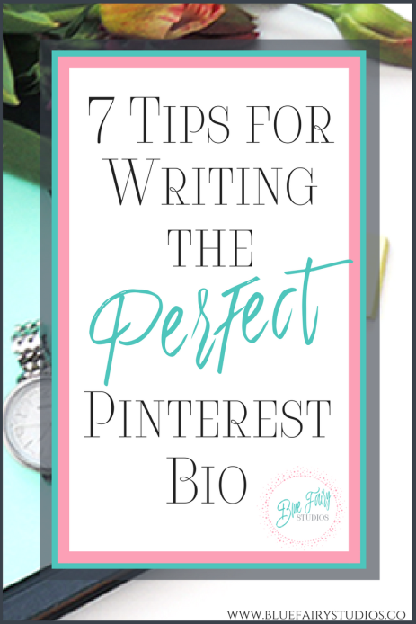 Did you know your Pinterest Biography can actually help you get found? Check out how to optimize this area of your Pinterest profile with these 7 tips!