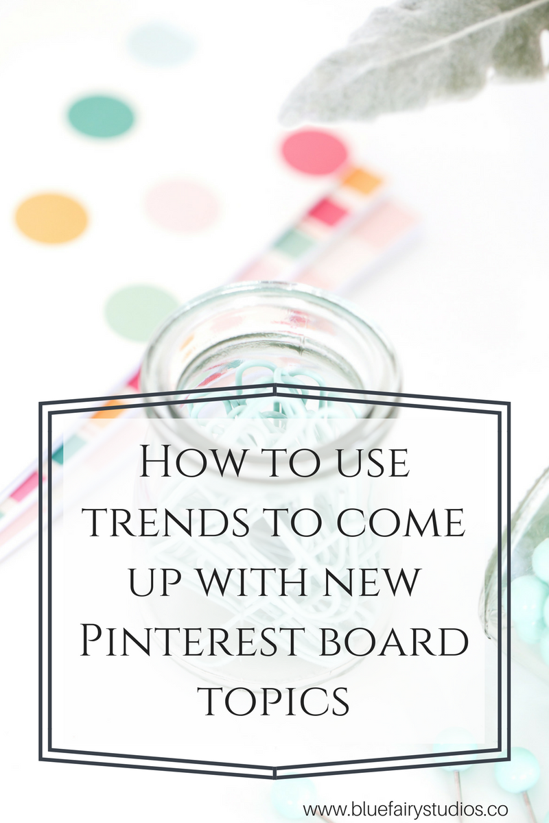 So now that I've lectured all of you lovely readers on WHY you need to create new Pinterest boards regularly (see this post), let's talk about how to beat that brain block and come up with these new board topics regularly. One of the easiest ways to brainstorm a new board topic is to use the Pinterest Discovery tool.