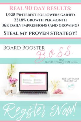 Board Booster BOSS Course is here! Increase your traffic and take your Pinterest Marketing to the next level!