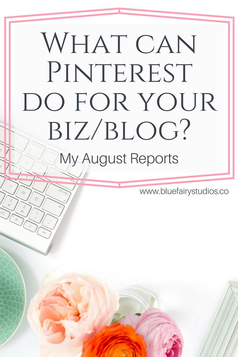 What can Pinterest do for your biz or blog? Check out my client's real results! (August 2018 Reports).