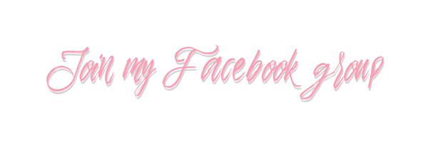 Join my Facebook Group