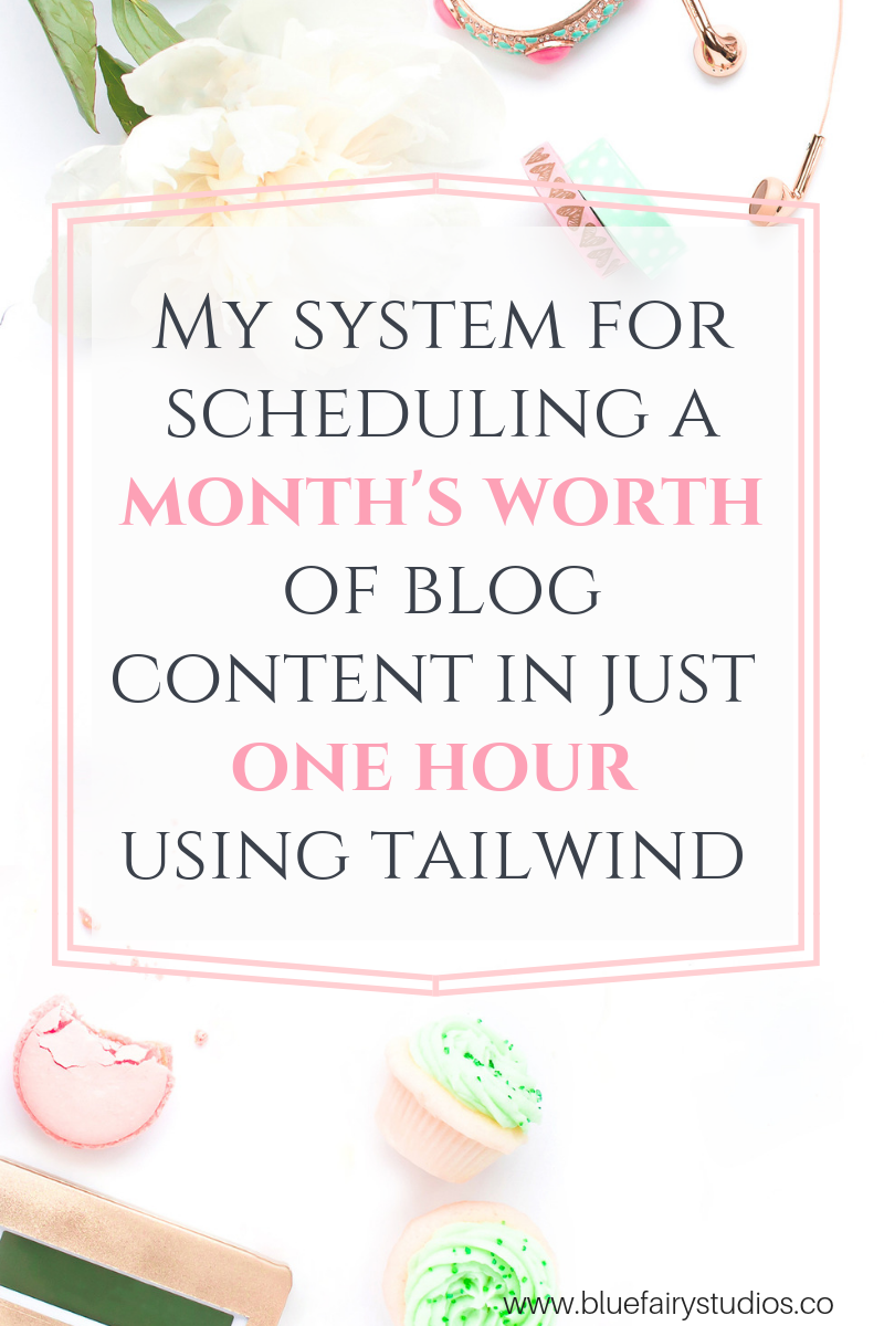 My system for scheduling a month's worth of blog content in just one hour, using tailwind